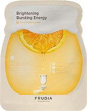 Voňavky, Parfémy, kozmetika Rozjasňujúca látková maska na tvár - Frudia Brightening Citrus Mask