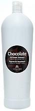 """Voňavky, Parfémy, kozmetika Šampón na suché a poškodené vlasy """"Čokoláda"""" - Kallos Cosmetics Chocolate Full Repair Shampoo"""