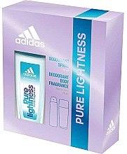 Voňavky, Parfémy, kozmetika Adidas Pure Lightness - Sada (deo/75ml+spray/150ml)