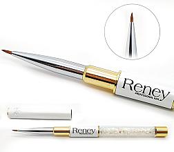 Voňavky, Parfémy, kozmetika Štetec na nechtový dizajn - Reney Cosmetics Pro Detailer AN01