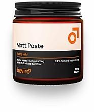 Voňavky, Parfémy, kozmetika Pasta na vlasy - Beviro Matt Paste Strong Hold