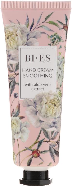 Vyhladzujúci krém na ruky s extraktom z aloe vera - Bi-es Smoothing Hand Cream With Aloe Vera Extract