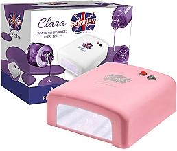 Voňavky, Parfémy, kozmetika Lampa na nechty UV, koralová - Ronney Profesional Clara UV 36W (GY-UV-818) Lamp