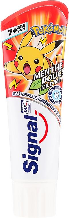 Detská zubná pasta, červená - Signal Junior Pokemon Toothpaste
