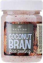 Voňavky, Parfémy, kozmetika Kokosový peeling na tvár - Hristina Cosmetics Coconut Bran Face Peeling