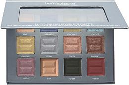 Voňavky, Parfémy, kozmetika Paleta očných tieňov - Bellapierre 12 Color Pro Jewel Eye Palette