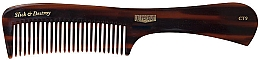 Voňavky, Parfémy, kozmetika Hrebeň na styling vlasov - Uppercut Deluxe CT9 Tortoise Styling Comb