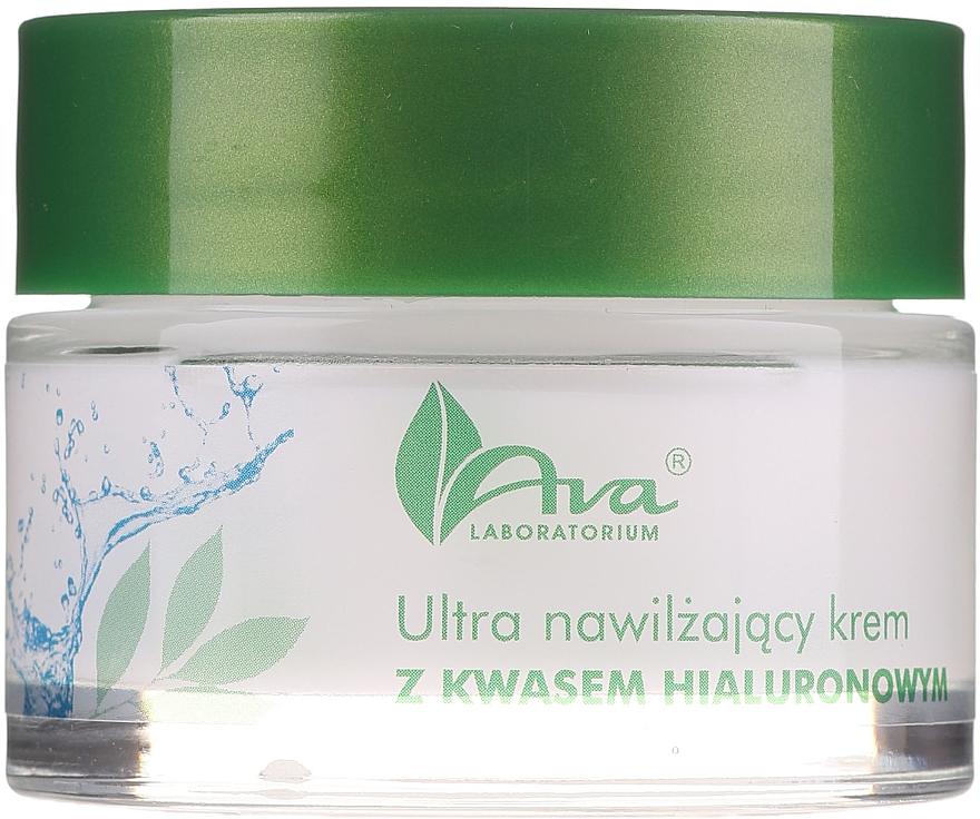 Ultrahydratačný krém s kyselinou hyalurónovou - AVA Laboratorium Ultra Moisturizing Hyaluronic Cream
