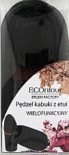 Voňavky, Parfémy, kozmetika Multifunkčný kabuki štetec v puzdre - Econtour