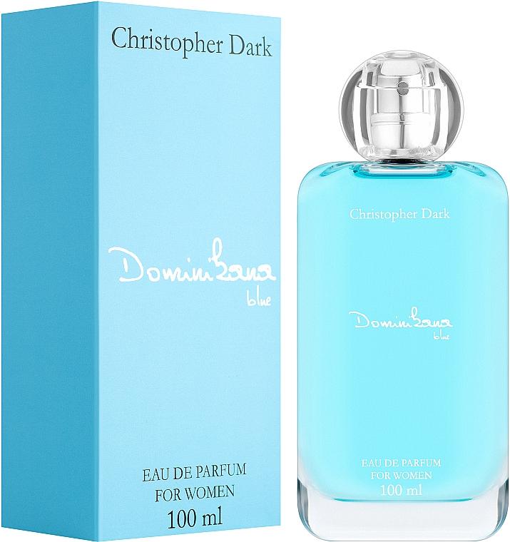 Christopher Dark Dominikana Blue - Parfumovaná voda