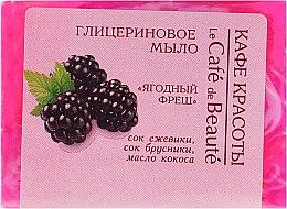 """Voňavky, Parfémy, kozmetika Glycerínové mydlo """"jahodový fresh"""" - Le Cafe de Beaute Glycerin Soap"""