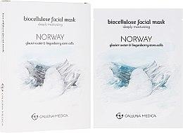 """Voňavky, Parfémy, kozmetika Textilná maska """"Nórsko"""" - Calluna Medica Norway Deeply Moisturizing Biocellulose Facial Mask"""