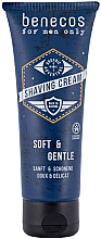Voňavky, Parfémy, kozmetika Holiaci krém - Benecos For Men Only Shaving Cream