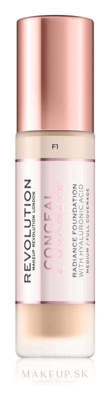 Make-up - Makeup Revolution Conceal & Hydrate Foundation — Obrázky F1
