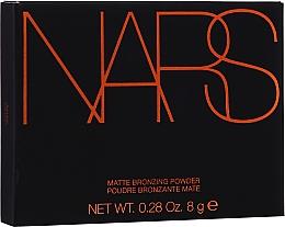 Voňavky, Parfémy, kozmetika Matný bronzer na tvár - Nars Matte Bronzing Powder