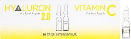 Voňavky, Parfémy, kozmetika Ampulky na tvár - Alcina Hyaluron 2.0 & Vitamin C Ampulle
