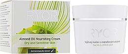 Voňavky, Parfémy, kozmetika Výživný krém s mandľovým olejom - Ryor Face Care