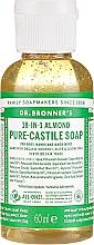 "Voňavky, Parfémy, kozmetika Tekuté mydlo ""Mandle"" - Dr. Bronner's 18-in-1 Pure Castile Soap Almond"