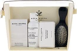 Voňavky, Parfémy, kozmetika Sada - Acca Kappa (edp/30ml + b/lotion/100ml + soap/50g + hairbrush)