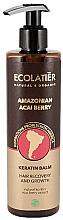 "Voňavky, Parfémy, kozmetika Keratínový balzam na vlasy ""Amazonské bobule acai"" - Ecolatier Amazonian Acai Berry Hair Balm"
