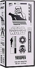 Voňavky, Parfémy, kozmetika Disney Star Wars Stormtrooper 3D Imperial Army - Toaletná voda