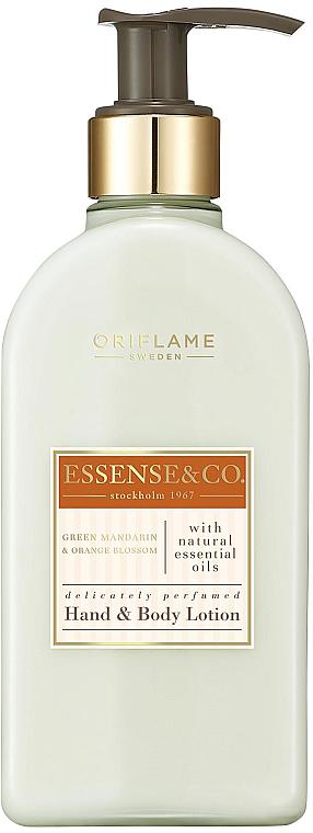 Lotion na ruky a telo so zelenou mandarínkou a kvetom pomaranča - Oriflame Essense & Co.