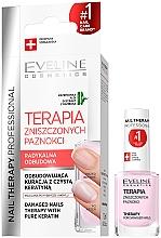 Voňavky, Parfémy, kozmetika Kondicionér na nechty - Eveline Cosmetics Nail Therapy Professional Therapy For Damage Nails