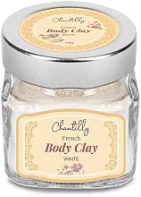 Voňavky, Parfémy, kozmetika Francúzska biela hlina - Chantilly Body Clay White