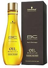 Voňavky, Parfémy, kozmetika Olej pre normálne a tvrdé vlasy - Schwarzkopf Professional Bonacure BC