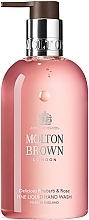 Voňavky, Parfémy, kozmetika Molton Brown Rhubarb & Rose Hand Wash - Tekuté mydlo na ruky