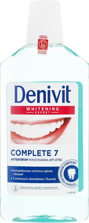 Antibakteriálna ústna voda - Denivit Whitening Expert Complete 7 Mouthwash