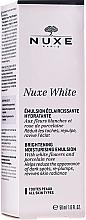 Voňavky, Parfémy, kozmetika Rozjasňujúca hydratačná emulzia - Nuxe White Brightening Moisturizing Emulsion