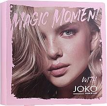 Voňavky, Parfémy, kozmetika Sada - Joko (mascara/9ml + eye/shadow/7g + n/polish/10ml)