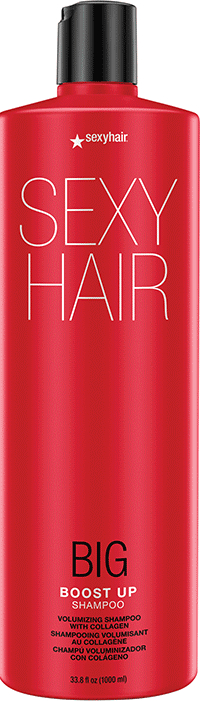 Šampón na vlasy - SexyHair Big Boost Up Volumizing Shampoo Collagen — Obrázky N2