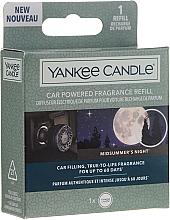 Voňavky, Parfémy, kozmetika Vôňa do auta - Yankee Candle Car Powered Aróma Refill Midsummer's Night