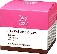 Voňavky, Parfémy, kozmetika Hydratačný krém na tvár s kolagénom - XYcos Pink Collagen Cream