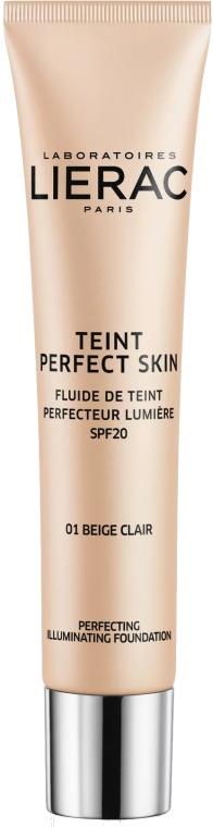 Tónovací fluid - Lierac Teint Perfect Skin Illuminating Fluid Spf 20