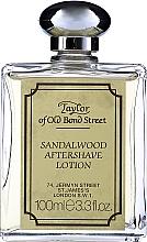 Voňavky, Parfémy, kozmetika Taylor Of Old Bond Street Sandalwood Aftershave Lotion Alcohol-Based - Lotion po holení
