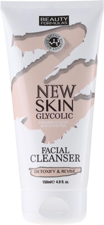 Mlieko na umývanie - Beauty Formulas New Skin Glycolic Facial Cleanser