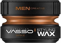 Voňavky, Parfémy, kozmetika Vosk na úpravu vlasov - Vasso Professional Hair Styling Wax Spike