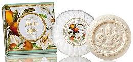 """Voňavky, Parfémy, kozmetika Prírodné mydlo """"Ovocie a ľalia"""" - Saponificio Artigianale Fiorentino Fruits&Lily Soap"""