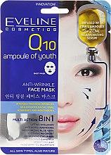 Voňavky, Parfémy, kozmetika Anti-age látková maska - Eveline Cosmetics Q10 Face Mask