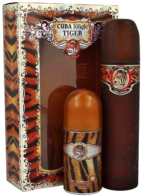 Cuba Jungle Tiger - Sada (edp 100ml + deo 50ml)