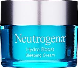 Voňavky, Parfémy, kozmetika Hydratačný nočný krém na tvár - Neutrogena Hydro Boost Sleeping Cream