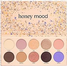 Voňavky, Parfémy, kozmetika  Paleta očných tieňov  - Paese Honey Mood Eyeshadow Palette