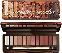 Voňavky, Parfémy, kozmetika Paleta očných tieňov - Eveline Cosmetics Charming Mocha Eyeshadow