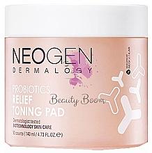 Voňavky, Parfémy, kozmetika Hydratačné tampóny s probiotikami - Neogen Dermalogy Probiotics Relief Toning Pad