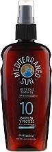 Voňavky, Parfémy, kozmetika Olej na opaľovanie - Mediterraneo Sun Coconut Suntan Oil SPF10