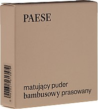 """Voňavky, Parfémy, kozmetika Púder na tvár """"Matný"""" - Paese Powder Mate"""