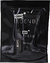 Voňavky, Parfémy, kozmetika Montblanc Legend - Sada (edt/7,5 ml + a/sh/b/50 ml + bag)